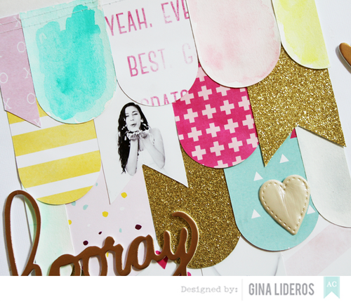 Gina Lideros New Years Layout AC sneak