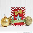 Gina Lideros Merry & Bright Merry card