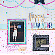 Happy New Year by Heather Leopard American Crafts