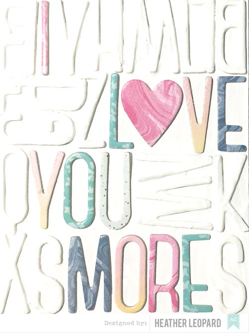 Love You More Cover American Crafts
