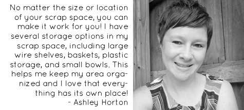 Craft Storage: Craft Room Tour: American Crafts Design Team Member - Ashley Horton (image)