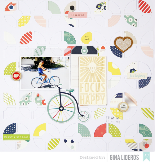 Gina Lideros Circles Focus On The Happy