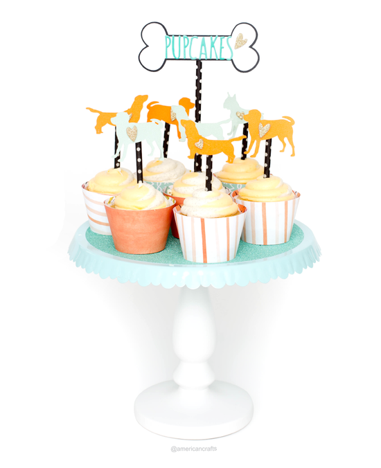 Puppy-Party-Ideas-Pupcakes