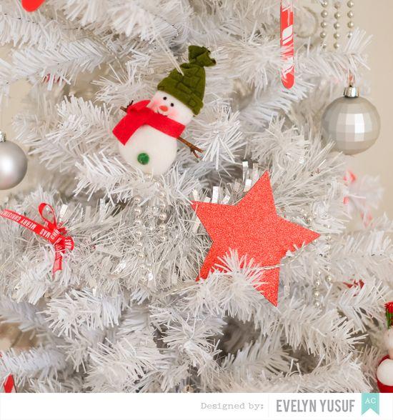 DIY Holiday Decor Christmas Tree Deck The Halls by  Evelynpy stars