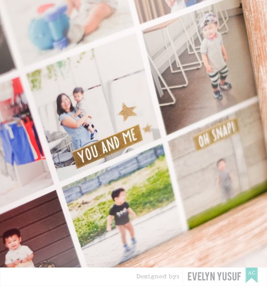 Year in Review DIY Frame Details 3 by Evelynpy