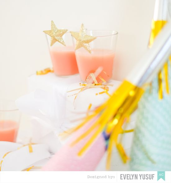 NYE party pieces american crafts by Evelynpy details  2