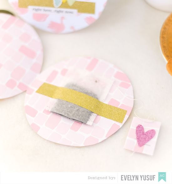 Circles Tea Bags Details 1 by Evelynpy