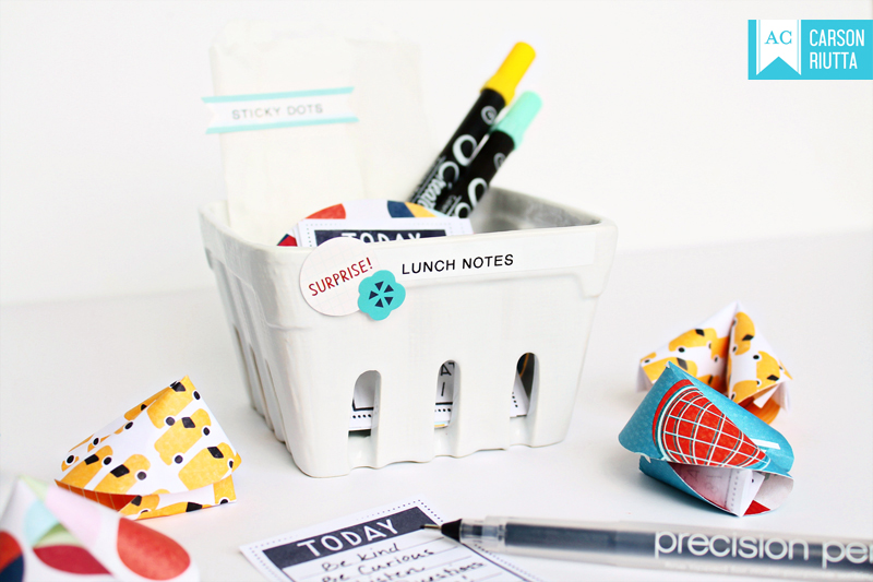 Back to School Lunch Notes 1