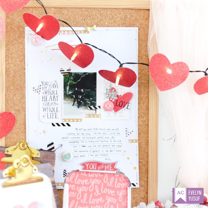 Valentine Desktop Decor Detail4 by   Evelynpy Americancrafts