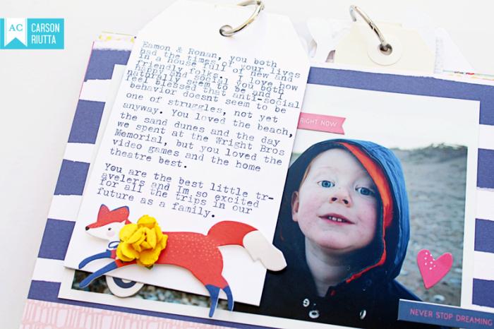 American Crafts Lovely Day OBX Mini by Carson Riutta Fox