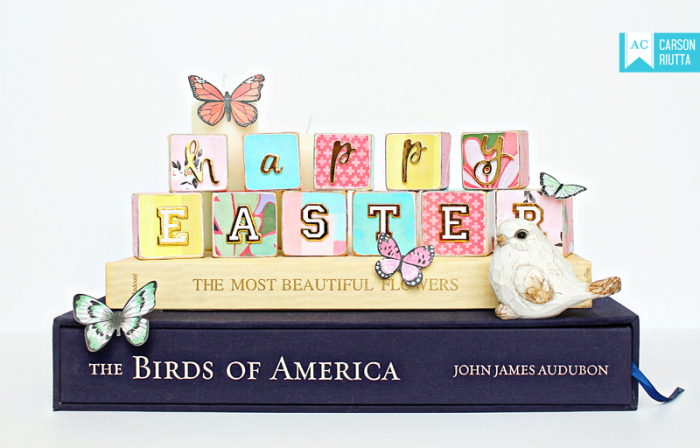 American Crafts Easter Block Home Decor by Carson Riutta 1