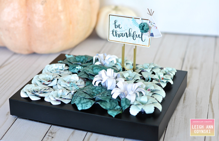 American Crafts Succulent Table Centerpiece Star Gazer Photo1