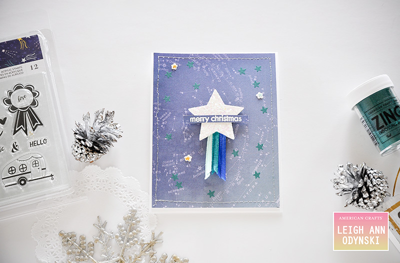 American Crafts Studio Blog Creating Custom Christmas Cards