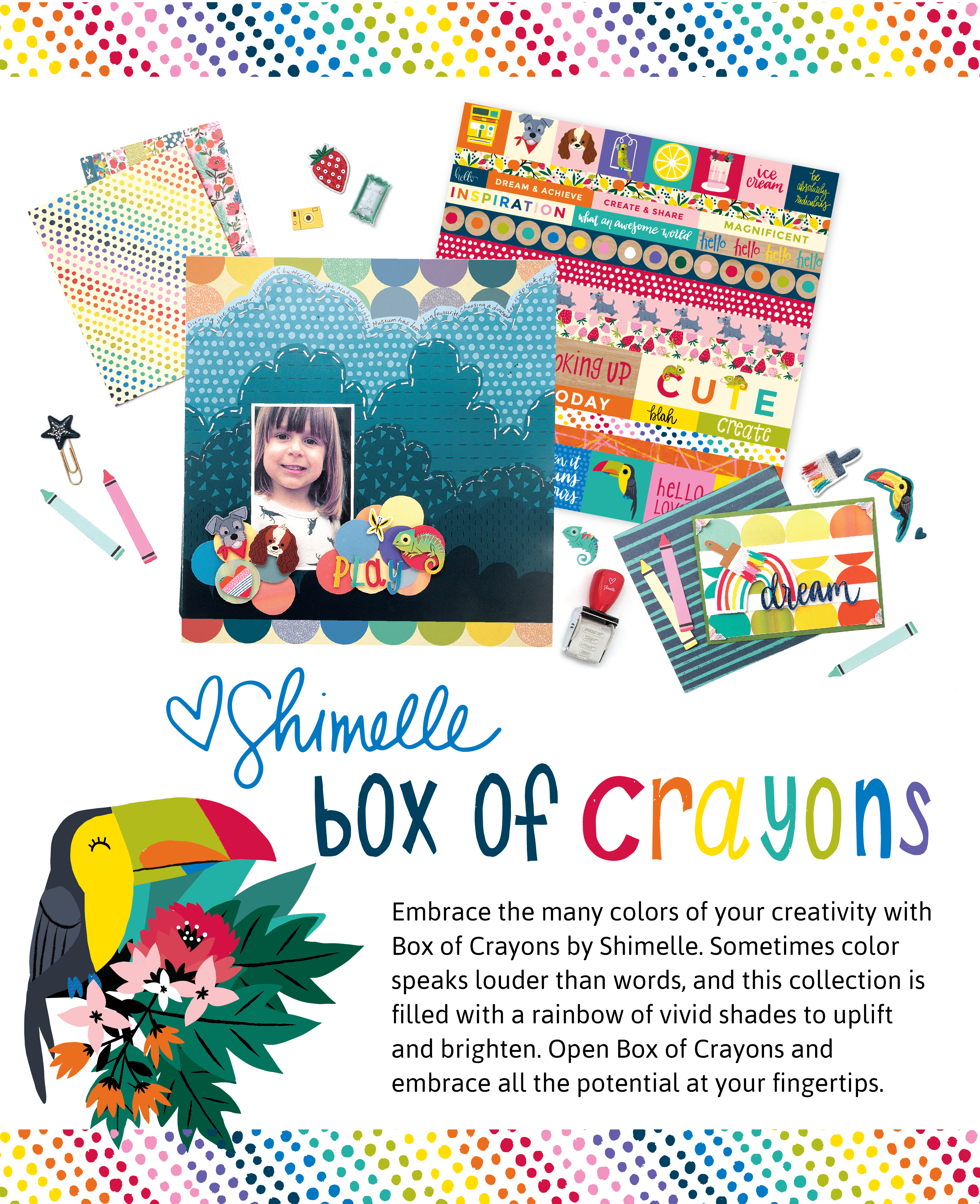 American Crafts Studio Blog Box Of Crayons By Shimelle
