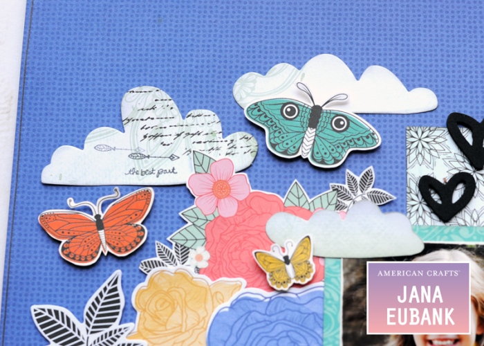 Jana Eubank - American Crafts - Vicki Boutin - All the Good Things - Life Is Good Scrapbook Page 4 800