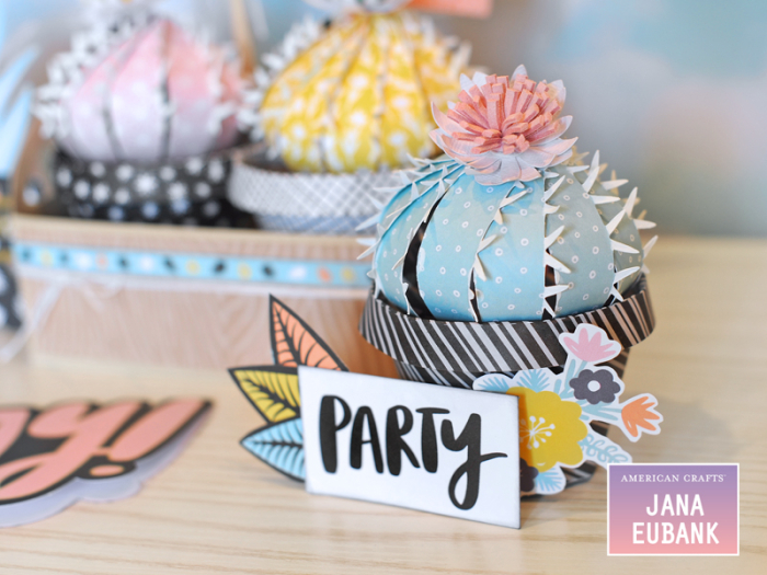 Jana Eubank American Crafts Amy Tangerine Shine On Cactus Home Decor 1 800
