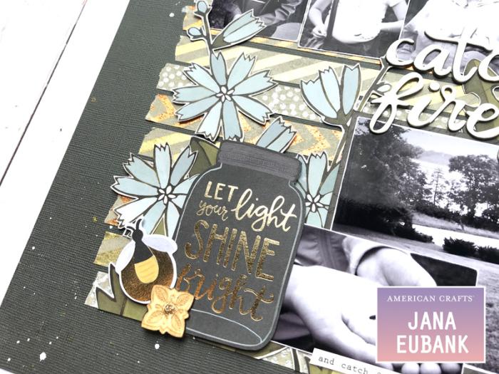 Jana Eubank American Crafts DIY Shop Fireflies Layout 3 800