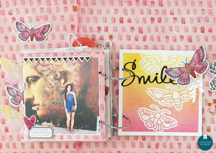 8-ACDT-mini-album-stencil-gesso-inkblending