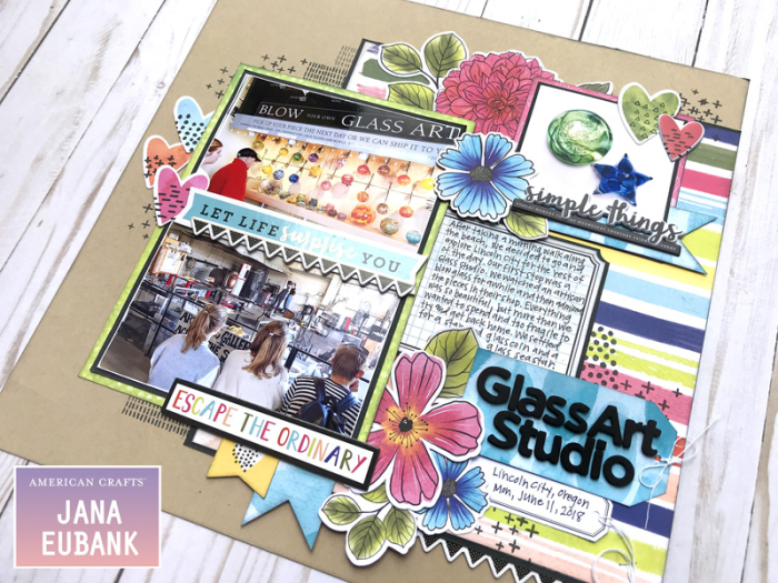 Jana Eubank American Crafts Vicki Boutin Field Notes Layout 5 800