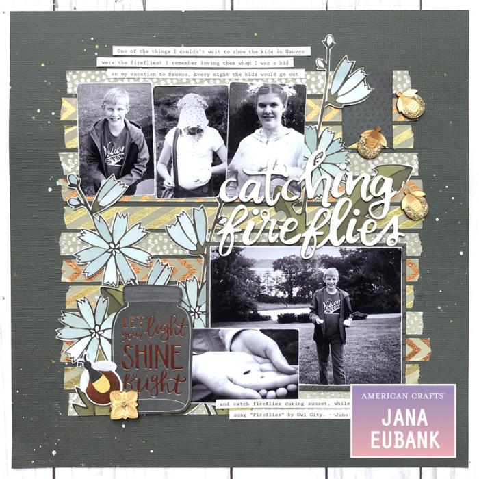 Jana Eubank American Crafts DIY Shop Fireflies Layout 1 800