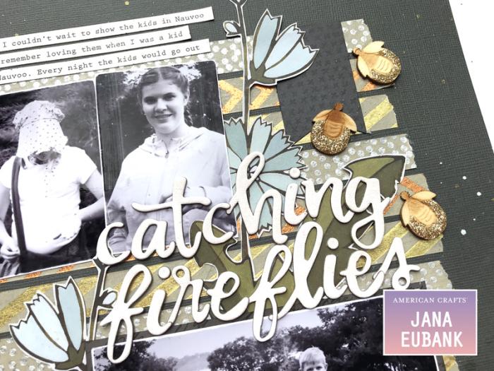 Jana Eubank American Crafts DIY Shop Fireflies Layout 2 800