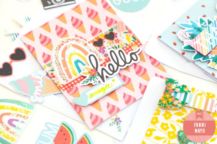 Rainbow-hello-card