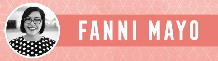 Fanni Blog Footer